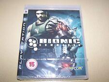 Bionic COMMANDO PS3 ** Nuovo e Sigillato **