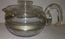 Vintage Pyrex Glass Flameware Tea Kettle Coffee Pot Teapot 6 cup Model # 8336-H