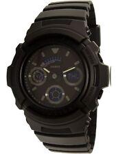 Casio Men's G-Shock AW591BB-1A Black Silicone Japanese Quartz Dress Watch