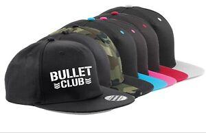 SNAPBACK CAP HAT Bullet Club ADJUSTABLE Pro Wrestling Japan MMA WWE WCW UFC NJPW