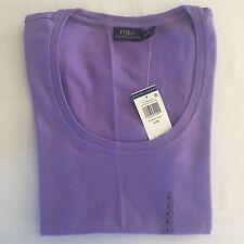 NWT Women's Polo Ralph Lauren S/S T-Shirt Purple - XSmall