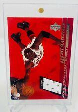2000 -01 Upper Deck Michael Jordan MJ Materials Game Shoe Patch MJ3 RARE