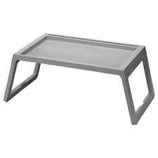 New IKEA Grey Bed Tray Table Breakfast Foldable Folding Serving Serve Serving