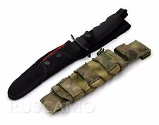 Universal pouch for scabbard compatible with the M.O.L.L.E. (A-TACS FG)