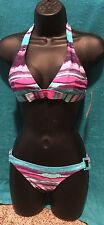 NEW Billabong 2 pc Womens Juniors Bikini Color Wash Size Medium Free Ship