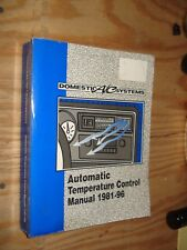 1981-1996 AIR CONDITIONING MANUAL SHOP SERVICE CHEVY DODGE FORD PONTIAC