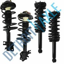 fits 1995-1999 Nissan Maxima Front & Rear Driver & Passenger Strut Coil Spring