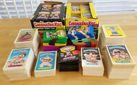 Vintage Garbage Pail Kids Lot (x50 Cards 1985 Series 1 and Up + Sealed Wax Pack)