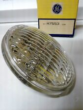 LOT OF 2 GE ALL GLASS SEALED BEAM LAMP 6V 12W H7553