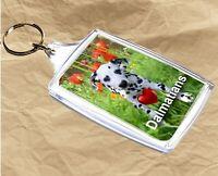 Dalmatian Keyring  Dog Key Ring Dalmatian Dog Gift Xmas Gift Mothers Day Gift