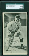 1936 National Chicle R313 Card - Walter Berger - Boston Bees- SGC 55