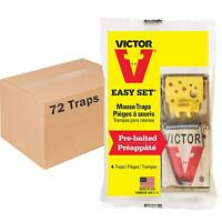 Victor Mouse Trap M032 Woodstream Corporation Case of 72 Traps!