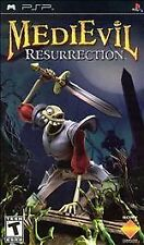MediEvil Resurrection UMD PSP W/CASE SONY PLAYSTATION PORTABLE Video GAME
