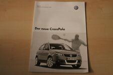 69385) VW Polo 9N CrossPolo - Preise & Extras - Prospekt 11/2005
