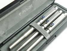 More details for vintage cased parker 25 flighter set. fountain pen, ballpoint & pencil