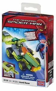 Mega Bloks The Amazing Spider Man Lizard Man Pocket Racer 91325 NEW