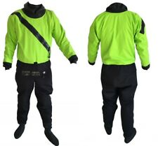 Green M/L/XL Shakoo Front Entry Kayaks Drysuits Paddling Drysuits with Front Zip