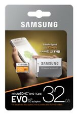 Samsung EVO 32GB microSD ** 95MB/s C10 U1 32G microSDHC micro SD MB-MP32GA +OriA
