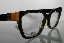 ec8118a1ef1 Fendi 0130 TRD Rare Color Optyl and Acetate Eyeglasses in Size 51-17-135