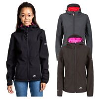 Trespass Suzanne Womens Softshell Jacket Waterproof Hooded Hiking Coat