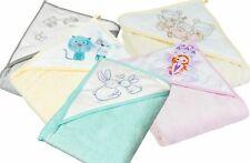 Kapuzenhandtuch Babyhandtuch 80x80cm 100% Baumwolle Tega Baby ® Viele Motive