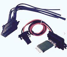 RENAULT Megane MK2 Scenic MK2 Riscaldatore Ventilatore Resistore & WIRING LOOM kit riparazione
