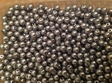 Silver Glass Bead 6mm X 250