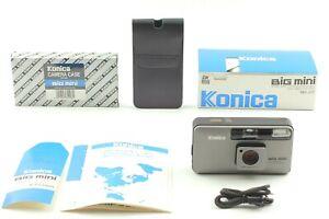 【UNUSED in BOX w/ CASE】 Konica Big Mini BM-201 35mm Film Camera From JAPAN #807