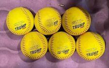6 Trump Rock softballs-Very Good Condition-300/.52 cor-clean-Asa certified