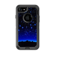 Skin Decal for Otterbox Defender iPhone 7 Case / Stars over glowing Sky