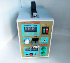 SUNKKO 788H Dual Pulse Battery Spot Welder Welding Machine +Battery Charger 220V