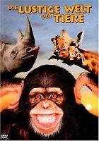 Die lustige Welt der Tiere von Jamie Uys | DVD | Zustand gut
