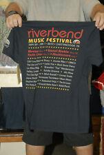 Riverbend Fest 2019 T Shirt New Weezer Lionel Richie Keith Urban Chattanooga Tn
