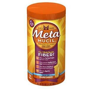 Metamucil Orange Smooth Sugar Free Dietry Fibre Digestive Supplement Powder