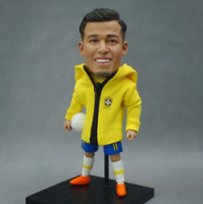 Toy Star Coutinho 2018 Brazil Game Sport Gift Soccer Cool Action Doll 12cm