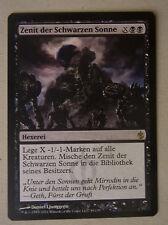 Sammelkartenspiel Magic the Gathering MtG ZENIT DER SCHWARZEN SONNE Hexerei Rare