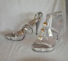 """Nine West """"Kattie"""" strappy hi-heel sandals - Size 11 with 4.5"""" heel - New"""