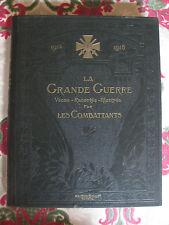 WW1 La Grande Guerre 1914 1918 combattants Foch Christian-Frogé Pétain 2 vol.