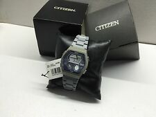 NOS Citizen C352 Ana-Digi 1481010 Chrono Digital LCD watch uhr MOT