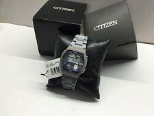 NOS Citizen C352 Ana-Digi 1481010 Chrono Digital LCD watch uhr MOT