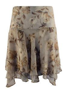 Lauren Ralph Lauren Women's Plus Size Floral Georgette Skirt