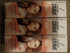 3 New Boxes Clairol Color Crave Hair Makeup Shimmering Rose Gold