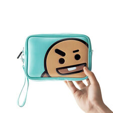 [Bt21] Shooky Enamel Pouch Makeup Case Travel Pouch Bts Free Tracking
