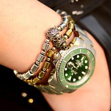 Fashion Wolf Beads Hematite Bracelets Adjustable Bracelets For Women Men Jewelry