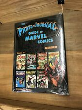 The Photo Journal Guide to Marvel Comics BNIP