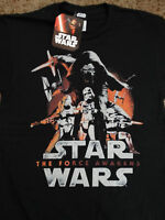 Star Wars The Force Awakens Movie Kylo Ren Stormtroopers New Poster T-Shirt