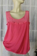 SIZE M WITCHERY PINK SINGLET TOP BUTTON DETAILS 💫 FREE POST ON ANY 5 ITEMS