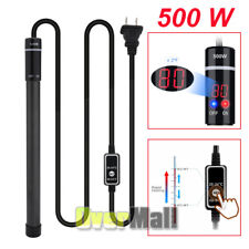 Digital LED Adjustable Titanium Alloy 500W Aquarium Heater for Salt Fresh Water