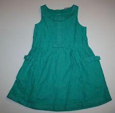 Nuevo NEXT GB Verde Verano Jersey estilo revestimiento de encaje vestido 5 6