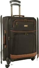 Tommy Bahama Lightweight Spinner Luggage - Expandable 24 Inches, Dark Brown